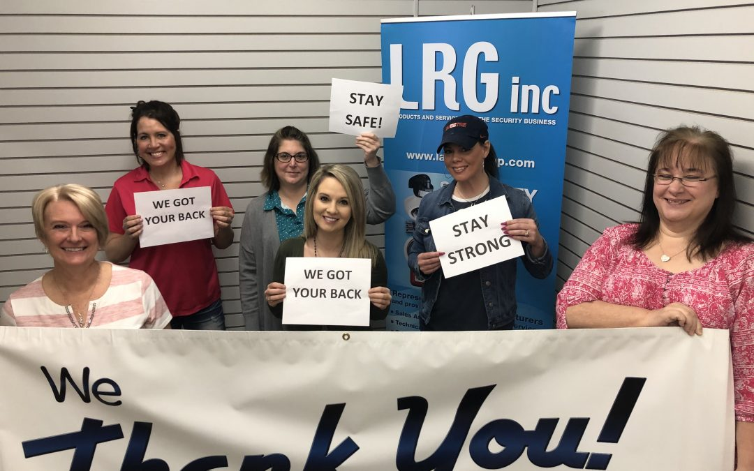 A Message for LRG, Inc Support Center