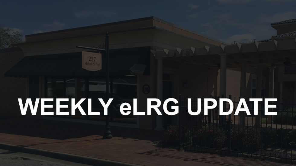 eLRG Weekly Update