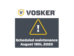 Vosker Scheduled Maintenance